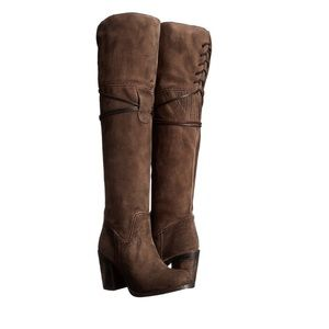 Freebird by Steven Leather over the knee boots NEW